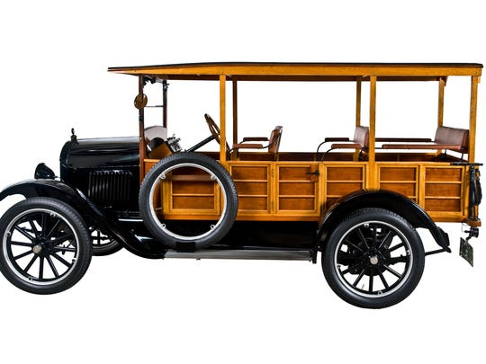 The 1922 Durant Star Beach Station Wagon is the featured