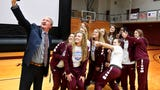 A special chapel service was held at Freed-Hardeman to celebrate the Lady Lions' 2018 NAIA Women's Basketball National Championship.