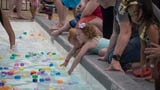 The 2018 Wettest Egg Hunt was held Saturday at New Providence Pool in Clarksville.