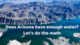 The Colorado River produces less water than Arizona and other states are entitled to use. And that is a big problem for our drinking water.