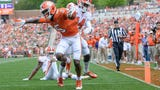 Clemson's Tee Higgins spring post-game