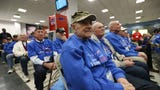 Hudson Valley Honor Flight Mission #19 is made up a large group of WWII and Korean War veterans, as well as Vietnam and Cold War era veterans.