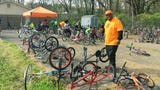 Key has given away more than 1,000 donated bikes in the last eight years