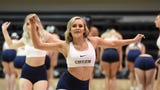 Students tryout for the Nevada Wolf pack