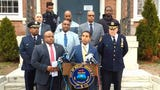 Mount Vernon officials discuss a 2-year-old boy's death and arrest of the boy's father, Lloyd Scott, on April 17, 2018, the day after the death.