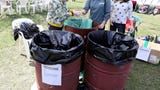 Ossining's 8th annual Earth Day Festival was held April 21, 2018 at Louis B. Engel Waterfront Park. (Video by Mark Vergari/lohud)