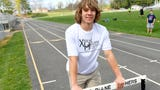 Sophomore Tucker Kiracofe pole vaults for Buffalo Gap High School's track team. He walks the track with sports reporter Patrick Hite, answering questions about pole vaulting and more.