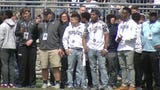 Penn State played the Blue-White Game, hosted several recruits for official visits and hosted more than 150 potential recruits on unofficial visits.