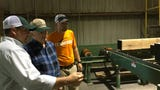 Averitt, whose family has operated a saw mill in Houston County for more than 100 years, recently sold the operation to Clark