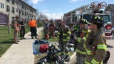 A carbon monoxide alarm at an assisted living home in Essex triggered evacuations on Tuesday, May 1, 2018, and sent four people to the hospital.