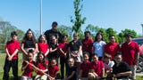 D'Ippolito Elementary School students received a lesson on Arbor Day and how to plant trees for future generations.