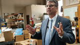 Perry was in Abilene touring Global Samaritan Resources on Wednesday.