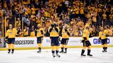 David Poile said during a press conference, that he was disappointed that the home ice advantage didn't happen in Game 7.