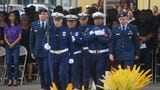 The 2018 Peace Officers' Memorial Service and Wreath Laying Ceremony was held at the Guam Police Department Badge Memorial Monument Park in Hagåtña on May 15, 2018.