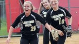 Highlights from Clarkstown South's first round softball playoff win over North Rockland