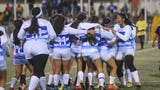 The Notre Dame Royals won high school girls' soccer championship. ND assistant coach, GW head coach and ND player shared a few words about the game