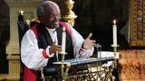"Bishop Michael Curry, the leader of the Episcopal Church, quoted Dr. Martin Luther King Jr. on the ""power of love"" as he blessed the marriage of Prince Harry and Meghan Markle."