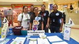 EMS Week kicked off with Education Day, an event featuring educational booths from various emergency services at the Agana Shopping Center on May 21, 2018