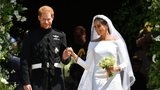 They watched the royal wedding on TV, and now Harry and Meghan have given them a memento from the big day.