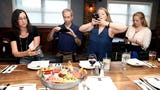 Nanuet Restaurant re-opens with an event hosted by lohud.com's Jeanne Muchnick, the food and dining writer.