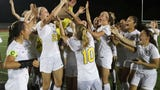 Three goals in four minutes was all Padua needed after falling behind early in their DIAA Division I state tournament title win.