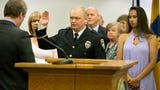 Troy Bankert is sworn in as York chief of  police after acting as interim chief and talks about what is next for York.