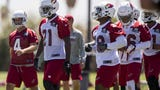 Cardinals head coach Steve Wilks and quarterback Sam Bradford spoke to media after practice during the first day of a three-day mandatory minicamp.