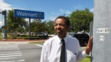 A minister explains how Walmart stores in Brevard help out the homeless.