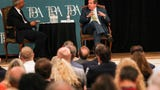 Former Nashville Mayor Karl Dean addressed various legal questions from the Commercial Appeal's Mark Russell at a governors' forum at The Peabody Hotel in Memphis on Thursday, June 14, 2018.
