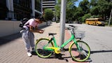 Bike sharing has popped up in the Lower Hudson Valley. We take a GoPro ride through White Plains.