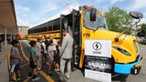 The White Plains School District will have the first electric school busses in New York State, when school begins next September 2018.