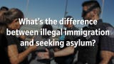 Arizona Republic reporters explain the difference between seeking asylum at the border and attempting to immigrate illegally.