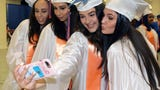 Yonkers Middle High School celebrated their 122nd commencement exercises, at the Westchester County Center in White Plains, June 20, 2018.