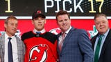 Scouting report on defenseman Ty Smith, the defenseman drafted by the Devils at No. 17.