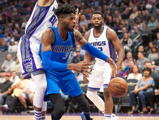 NBA: Dallas Mavericks at Sacramento Kings