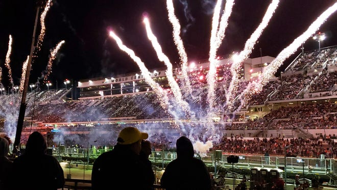The last time the Speedway hosted a big event was the Daytona Supercross on March 7.