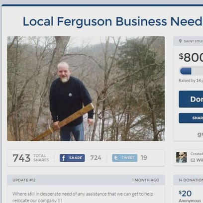 Ferguson fundraising raises concern of fraud
