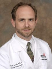 Dr. Kevin Dell, an internist at University of Cincinnati
