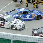 NASCAR drivers swap paint, threats