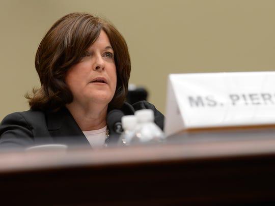Julia Pierson, then director of the Secret Service,