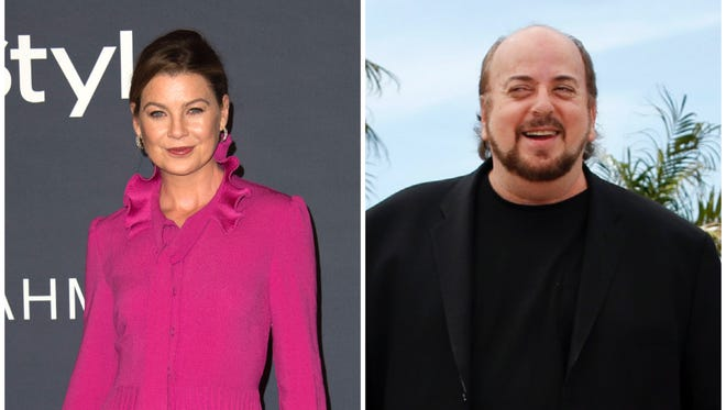 """Ellen Pompeo says James Toback waited until her male friend left their meeting before asking her if she's be willing to """"get naked in a movie."""""""