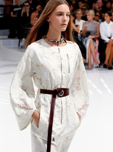 33e96bf7d4 A model wears a creation for Christian Dior s Spring Summer 2015 ready-to-