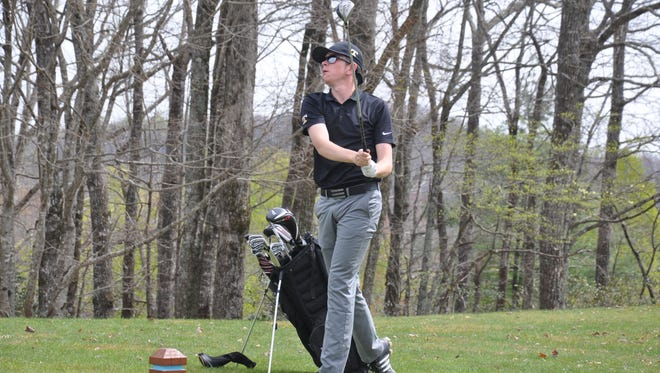 Isley McClure and the Tuscola boys golf team have wrapped up an undefeated regular season.