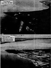 Aerial photos of Cape Coral on Nov. 15, 1957 (top)