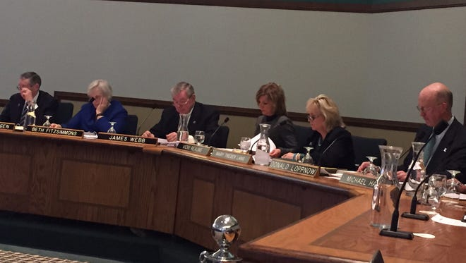 Eastern Michigan University board of regents met Friday, Feb. 5, 2016.