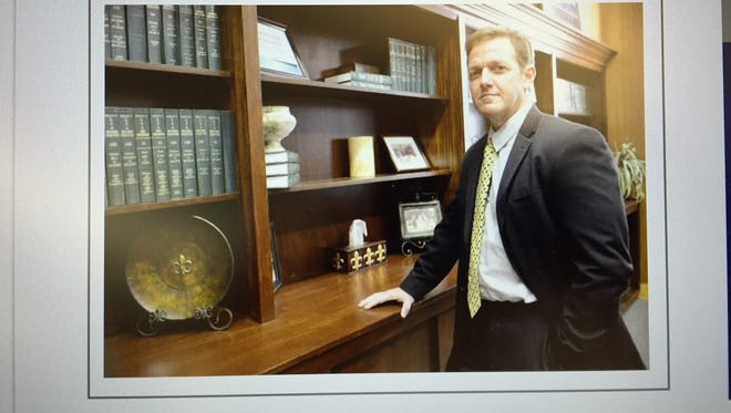 Vermilion Parish Superintendent Jerome Puyau is seen on the district's official website. Puyau is a candidate for the superintendent job in Ascension Parish.