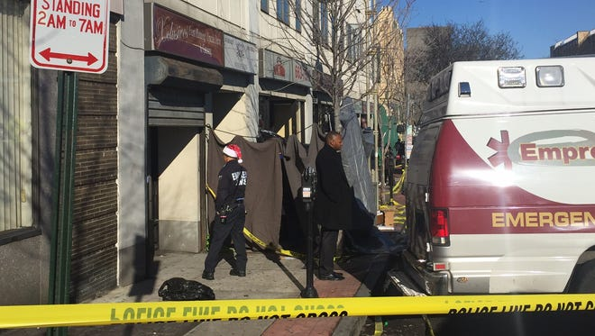 The scene Christmas morning 2016 at The Mansion nightclub in Mount Vernon after a shooting left two dead.