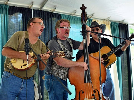 Buncombe Turnpike plays the Folk Art Center this weekend.