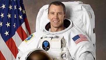 At Purdue graduation, a NASA astronaut aboard the International Space Station got a degree
