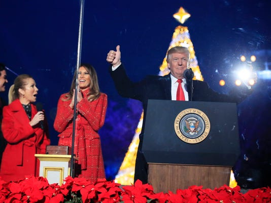 AP TRUMP CHRISTMAS A USA DC